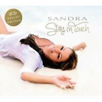 SANDRA - STAY IN TOUCH (DELUXE EDITION)  2 CD  22 TRACKS INTERNATIONAL POP  NEU