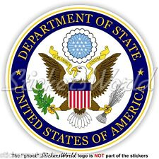 US DEPARTMENT OF STATE Seal USA United States America DOS American Sticker Decal