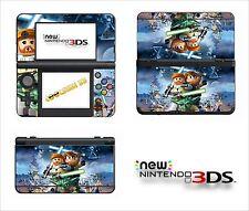 SKIN STICKER AUTOCOLLANT - NINTENDO NEW 3DS - REF 198 LEGO STAR WARS