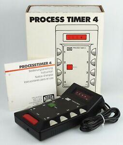 Jobo Process Timer 4 Typ: 4640. Schaltuhr für Fotoentwicklung 13302