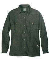 Men's Woolrich Wool Stag Jacket Earth Green NWT Washable Wool Size 3XL