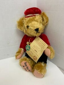 Hermann Bear Boy Yes No Bellhop Mohair Limited Edition 204/1000 Vintage VIDEO