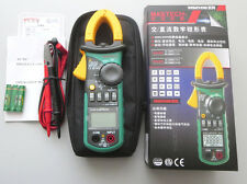 MASTECH MS2108A 4000 Counts AC/DC Current Volt Tester Digita Clamp Meter