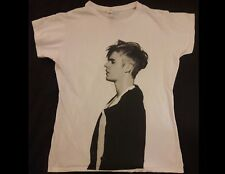 JUSTIN BIEBER Forever Junior Size XL White T-Shirt