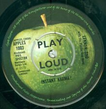 JOHN LENNON - INSTANT KARMA (USA APPLE APPLES 1003) 7'  1970