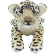 TAGLN Stuffed Animals Toys Cheetah Brown Leopard Plush Pillows for Kids 16 Inch
