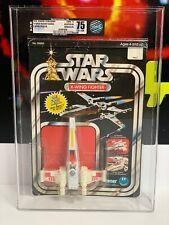 Star Wars Vintage Kenner 1978 Diecast X-wing - AFA 75 - 12 back MOC