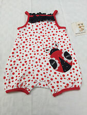 Buster Brown Baby Romper Ladybird Girls Size 000
