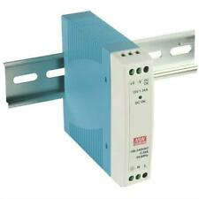 20w DIN Rail Power Supply 24vdc Mean Well Mdr-20-24