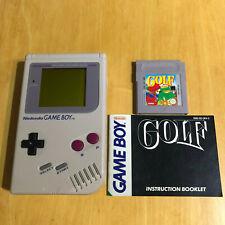 Nintendo Gameboy Original + Game & Manual