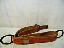 Vintage 1971 Rose Manufacturing Lineman's Belt Harness Model 242 Denver Co Usa