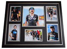 Geraint Thomas SIGNED Framed Photo Autograph Huge display Cycling Sport COA