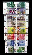Olanda 8 banconote 1°Serie  (Riproduzione/copy)