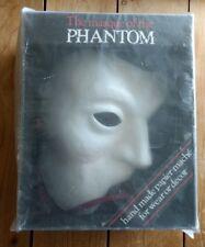 Vintage Phantom of the Opera Mask Papier Mache Masque Arrayed Hand Made 1988