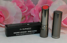 New MAC Huggable Lip Colour Lipstick Tube Fashion Force Full Size .11 oz / 3.2 g