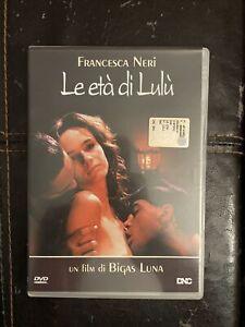 DVD - LE ETA' DI LULU' - BIGAS LUNA FRANCESCA NERI - 1991 DALL'ANGELO PICTURES