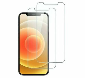 2 x Tempered Glass Screen Protectors For iPhone 13 Mini