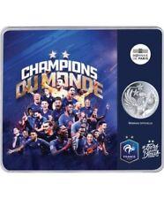 10 Euros Argent FRANCE 2018  LA FRANCE CHAMPIONNE DU MONDE  1998