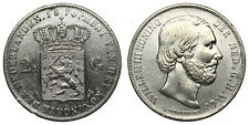 Netherlands - 2½ Gulden 1870