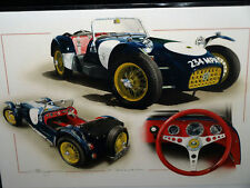 LOTUS 7 SEVEN CATERHAM CAR CHRISTMAS GREETING 1 FATHERS DAY OCCASSION CARD DUGAN