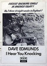 Dave Edmunds Rockpile Vintage & Rare 1970s Promotional Ads Collection