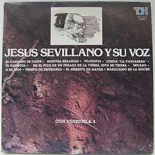 Jesus Sevillano y Su Voz Con Venezuela 4 Musica Popular 1982 Ex