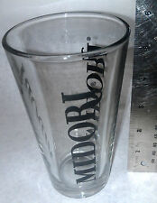 Midori Beer Glass 3 sided icon brand name extremely rare