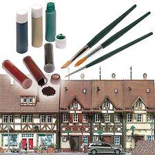 BUSCH 1700 Patinier-Set, 3 Flüssig-Farben, 3 Pulver-Farben, 3 Pinsel Neu