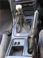 FITS NISSAN SKYLINE R33 GEAR & HANDBRAKE LEATHER BOOT RED S