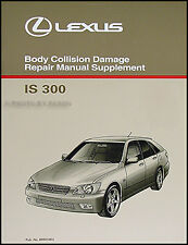 Lexus IS300 SportCross Body Repair Shop Manual 2001 2002 2003 2004 2005 IS 300