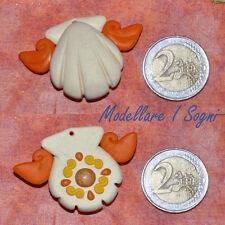 Collana Mermaid Melody ARANCIO - Sara / Seira Necklace - handmade fimo premo