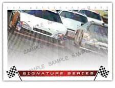 Blank RACING Cards The Autograph Card! F-1 Nascar Auto