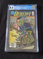 Batman Detective Comics #580, Encapsulated and Graded by CGC 8.5 VF +