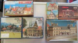 Marklin Vollmer & Kibri Kits Collection 6703 6403 9575 B-6822  6714 8972