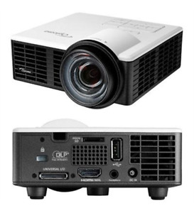 NEW Optoma ML750ST Short Throw LED Projector - 1280 x 800 Front 720p 20000 Hour