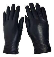 Echt Leder Handschuhe Superweich Schwarz - ganz weiches feines Leder
