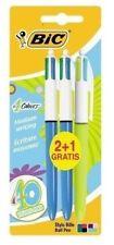 3 Bic 4 Multi Colour Pen - UK SELLER