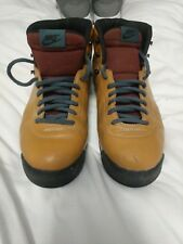 Nike Air Magma ND brown leather Hiking Boots Vintage Men's US Size 10.5