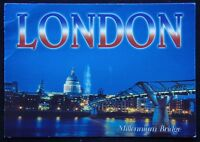 London Millennium Bridge c2004 Postcard (P244)