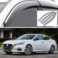 4Pcs Car Window Visor Vent Shade Deflector Sun/Rain for Nissan Altima 2019 2020