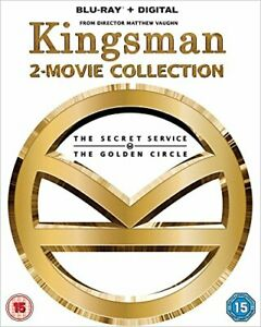 Kingsman - 2-Movie Collection [Blu-ray] [DVD][Region 2]