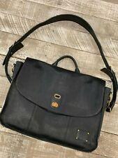 Will Leather Goods Black Sample Kent Messenger NEW Retail $450