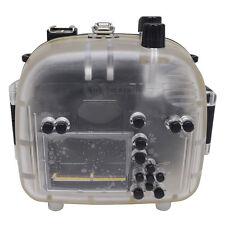 Mcoplus 40m/130ft Underwater Waterproof Housing Case for Canon EOS 550D/Rebel