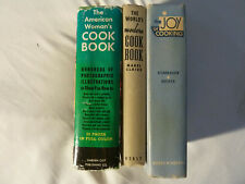THREE (3) OLDIE BUT GOODIE COOKBOOKS