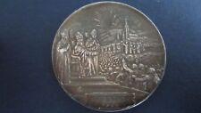 Medaille Bronze versilbert Frankreich sign. Penin Poncet und  A.Lyor 1908(18Q68)