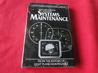 Vintage Book Basic and Advanced Light Plane Systems Maintenance in Cellophane