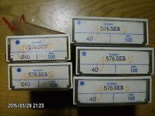 100 pc pack SCHMETZ sewing machine needles 576 SES  40/100