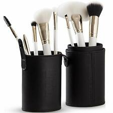 Professional Makeup Brush Set – 8 Soft Synthetic Cosmetic Brushes with Case