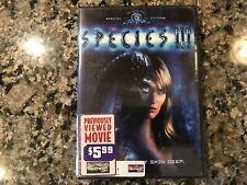 Species III DVD! 2004 Horror! (See) Galaxy Of Terror & Project Viper