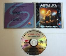 Metallica More Than Just Metal RARE LICE CD